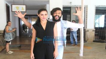Ritesh Deshmukh & Nargis Fakhri snapped at 'Banjo' promotions