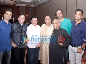 Shaan, Anup Jalota and others at the launch of 'Sa Re Ga Ma Music Academy'