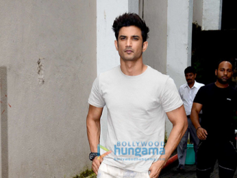 Sushant Singh Rajput snapped at the promotions of 'M.S. Dhoni - The Untold Story'