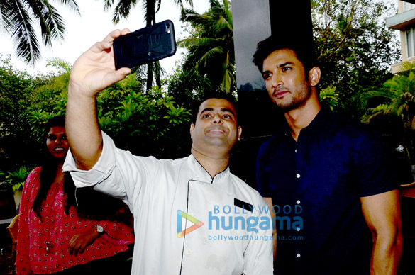 Sushant Singh Rajput snapped at 'M.S. Dhoni – The Untold Story'