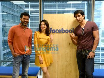 Tamannaah Bhatia, Prabhu Dheva & Sonu Sood visit Facebook office to promote 'Tutak Tutak Tutiya'