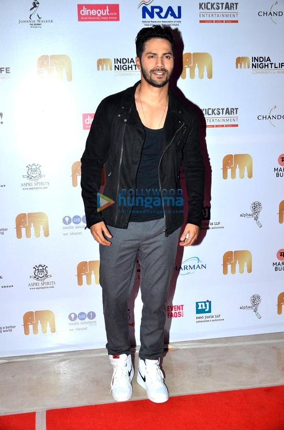 Varun Dhawan graces 'India Nightlife Convention Awards'