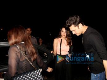 Varun Dhawan & his girlfriend Natasha snapped post dinner at Hakkasan