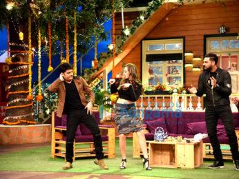 Yuvraj Singh & Hazel Keech at The Kapil Sharma Show