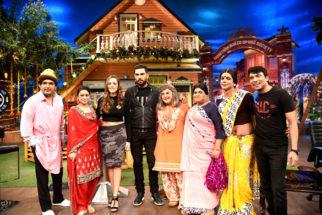 Yuvraj & Hazel at The Kapil Sharma Show
