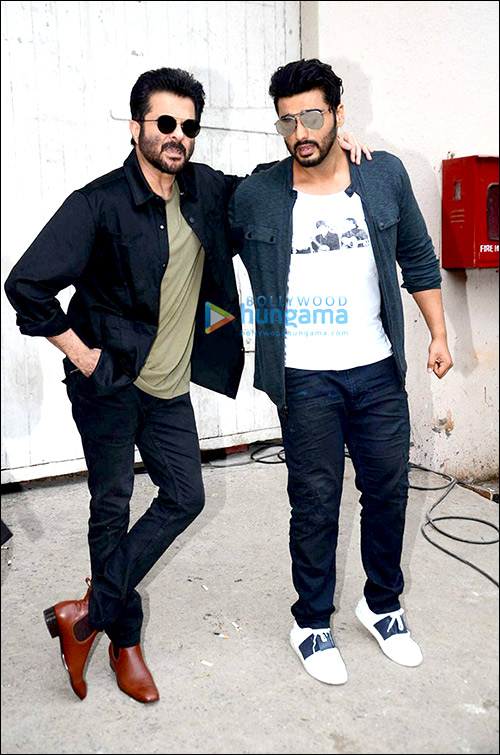 Check out: Arjun Kapoor photobombs Anil Kapoor on Vogue BFF sets
