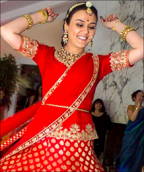 Preity Zinta and Gene Goodenough's wedding photographs