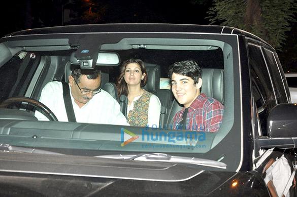 Aarav Kumar & Twinkle Khanna snapped in Bandra
