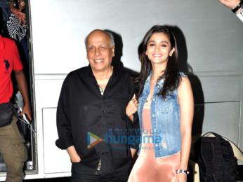 Alia Bhatt & Mahesh Bhatt shoot for Vogue BFF talk show