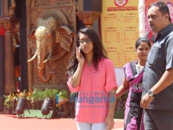 Alia Bhatt and Kajol grace Navratri celebrations in Juhu