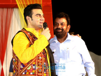 Arbaaz Khan promotes 'Tera Intezaar' at special Navratri celebrations in Gandhidham