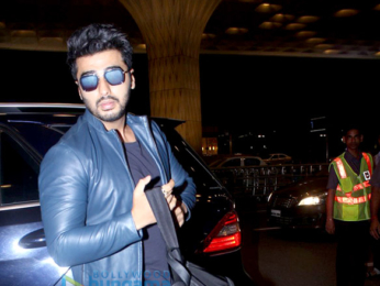 Arjun Kapoor, Neha Dhupia & Ameesha Patel snapped at the airport