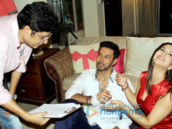 On The Sets Of The Movie Beiimaan Love