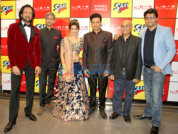 Cast of 'Saat Uchhakkey' at Libas store, Mumbai