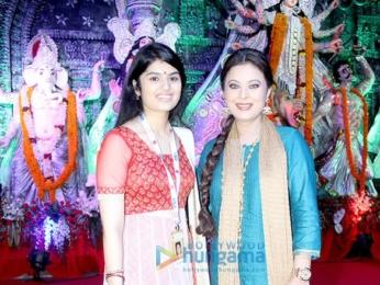Celebs at the 'North Bombay Sarbojanin Durga Pooja Samiti 2016'