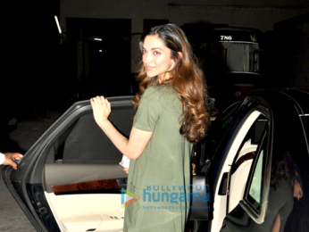 Deepika Padukone snapped post Parachute Ad shoot in Mumbai