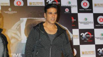 Akshay Kumar At The Music & Trailer Launch Of 30 Minutes