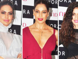 Esha Gupta, Bipasha Basu At The Launch Of Second Sephora Store