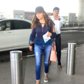Gauri Khan & Sonakshi Sinha snapped at the Mumbai international airport