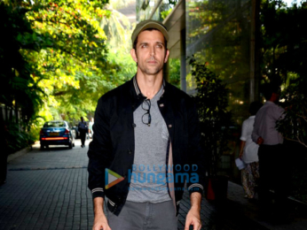 Hrithik Roshan snapped at 'Kaabil' trailer preview