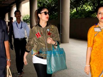 Kareena Kapoor Khan, Abhishek Bachchan & others snapped at the international airport