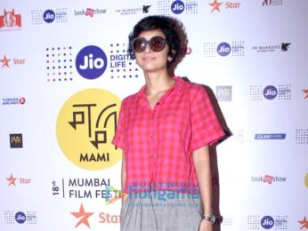Katrina Kaif, Karan Johar & Kiran Rao grace a discussion at the MAMI 18th Mumbai Film Festival 2016