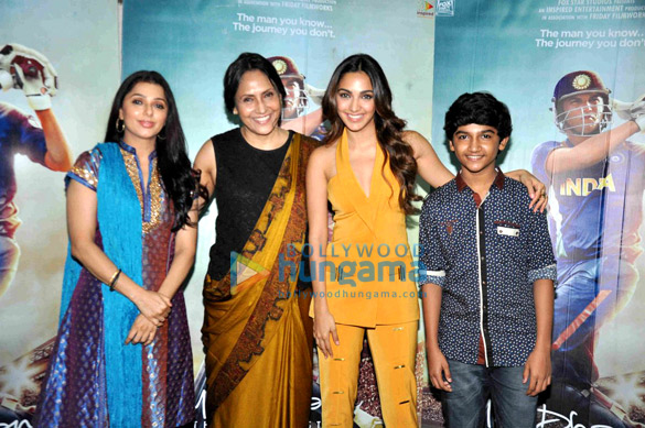 Kiara Advani, Bhumika Chawla & others at 'M.S. Dhoni - The Untold Story' media meet