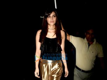 Kriti Sanon shoots for Zoom Diwali special