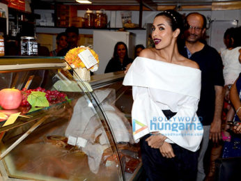 Malaika Arora Khan at the launch of Patisserie La Saluti in Bandra