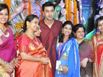 Ranbir Kapoor At Durga Puja Celebrations