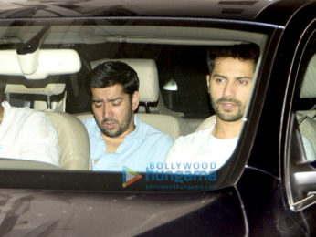 Ranbir Kapoor & Varun Dhawan snapped at Aditya Roy Kapur's party
