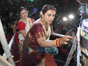 Rani Mukerji celebrates Sindur Khela