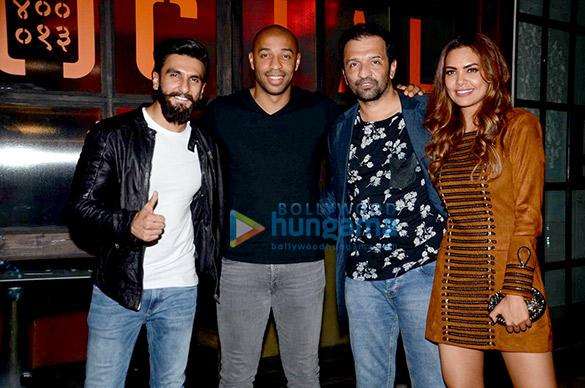 Ranveer Singh, Thierry Henry, Esha Gupta and Dia Mirza grace the Puma bash