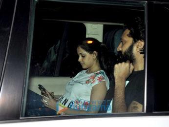 Riteish Deshmukh, Genelia Dsouza & Mushtaq Sheikh snapped at Starbucks