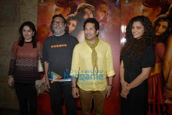 Sachin Tendulkar graces a special screening of 'Mirzya'