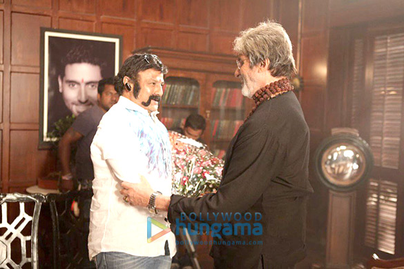On The Sets Of The Movie Sarkar 3