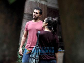 Shraddha Kapoor & Ritesh Sidhwani snapped post a meeting in Bandra