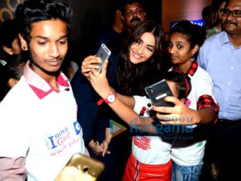Sonam Kapoor graces Plan International Girl Child event
