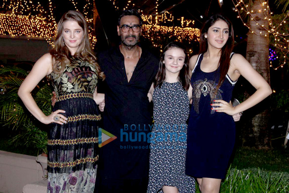 Special screening of 'Shivaay' with cast and crew