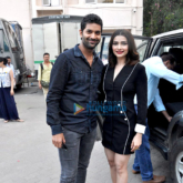 Star cast of 'Rock On!! 2' snapped at Mehboob Studio