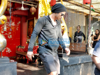 Sushant Singh Rajput snapped post spa session