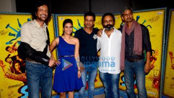 Team of 'Saat Uchhakkey' promotes their film at a suburban hotel