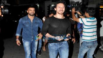 Tiger Shroff, Disha Patani & others grace the screening of 'M.S. Dhoni - The Untold Story' at PVR
