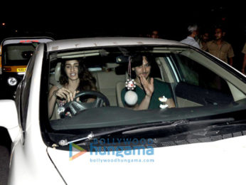 Tiger Shroff & Disha Patani snapped post their dinner at 'Pizza Express'