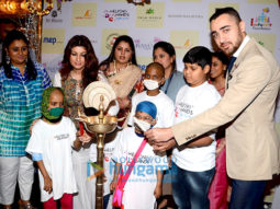 Twinkle Khanna and Imran Khan attend 'Helping Hands Exhibition' cum fundraiser event