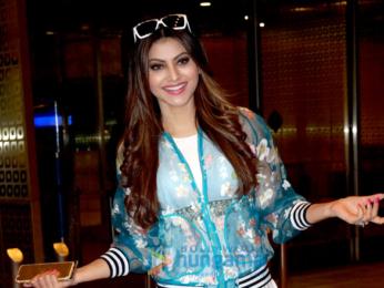 Urvashi Rautela snapped again at Mumbai international airport