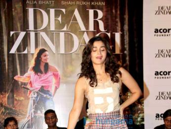 Alia Bhatt celebrates Children's Day with 'Dear Zindagi' promotions