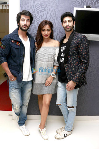 Cast of 'Tum Bin 2' media meet at T-Series office