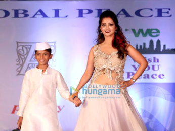 Celebs walk the ramp at the 'Global Peace Initiative'