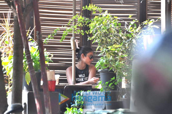 Ileana DCruz snapped post lunch at Suzette